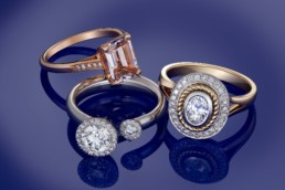 Dublin diamond jewellery advertising photographer
