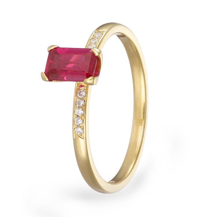 Gemstone ring jewellery photographer