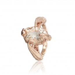 Rose gold jewellery photographer